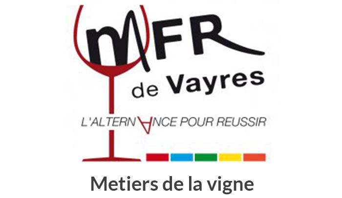 logo-MFR- Vayres- partenaires formation metiers de la vigne socrate conseils